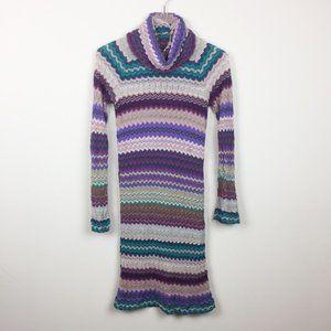 Missoni | Classic Zig Zag Bell Sleeve Knit Dress